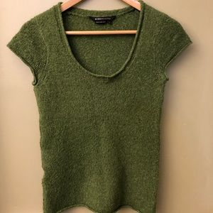 BCBGMAXAZRIA Green Sweater Size Small